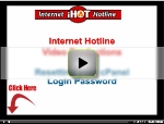 Cpanel Thumbmail login screen for video play